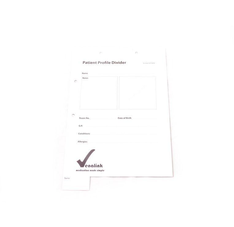 Patient-Profile-Divider - Venalink