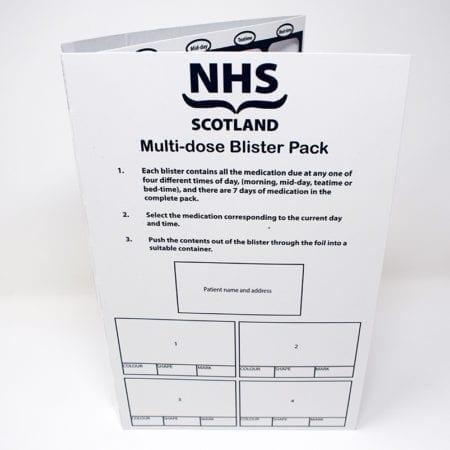 NHS Scotland Qube Card