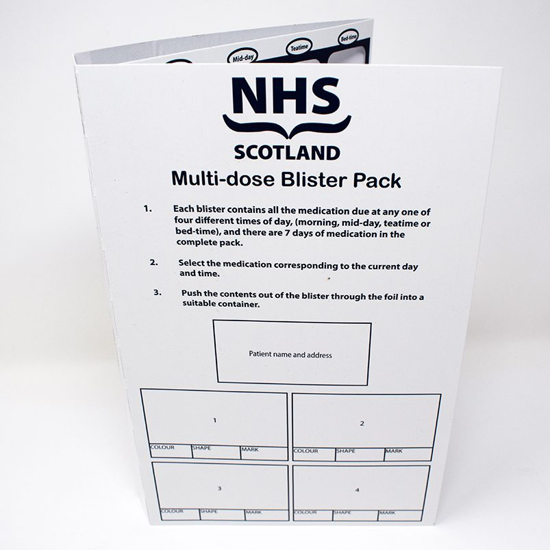 NHS Scotland Qube Card
