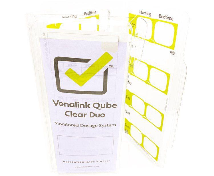 Venalink Qube Clear Duo